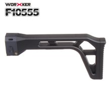 Worker Mod Shoulder Stock Tail Stock Buttstock Toy Gun Accessories Replacement Kit For Nerf N-strike Elite Series DIY Toy Guns