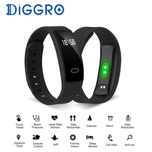QS80 Bluetooth Smart Band Bracelet Wristband Heart Rate Sedentary Reminder Sleep Monitoring for IOS Android Smart