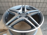 4 New 18x9 5 Rims Wheels For MERCEDES BENZ BLACK AMG RIMS WHEELS 35mm 828 Alloy