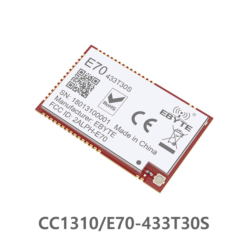 E70-433T30S CC1310 1w  433MHz IOT SMD Rf Wireless Uhf Module Transmitter And Receiver 433MHz RF Module