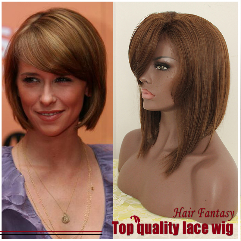 Short Blonde Wig With Bangs 30