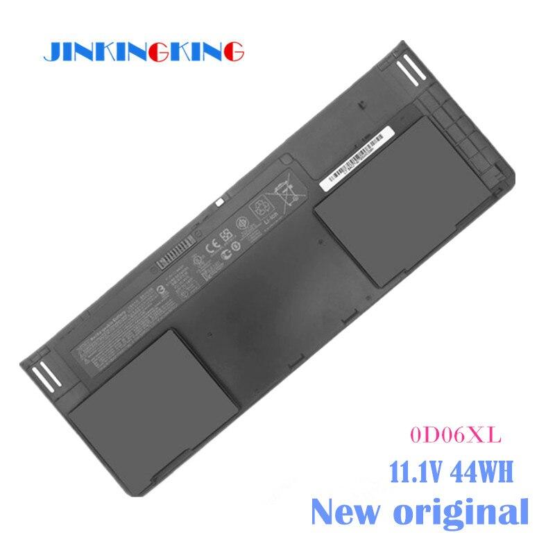 Batterie d'ordinateur portable 0D06XL 0DO6XL H6L25AA H6L25UT HSTNN-IB4F W91C OD06XL ODO6XL Pour HP EliteBook Revolve 810 G1 Tablette G3 830
