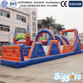 Inflatable Biggors Commercial Inflatable Rush Run Obstacle Course For Sale Shipping by Sea