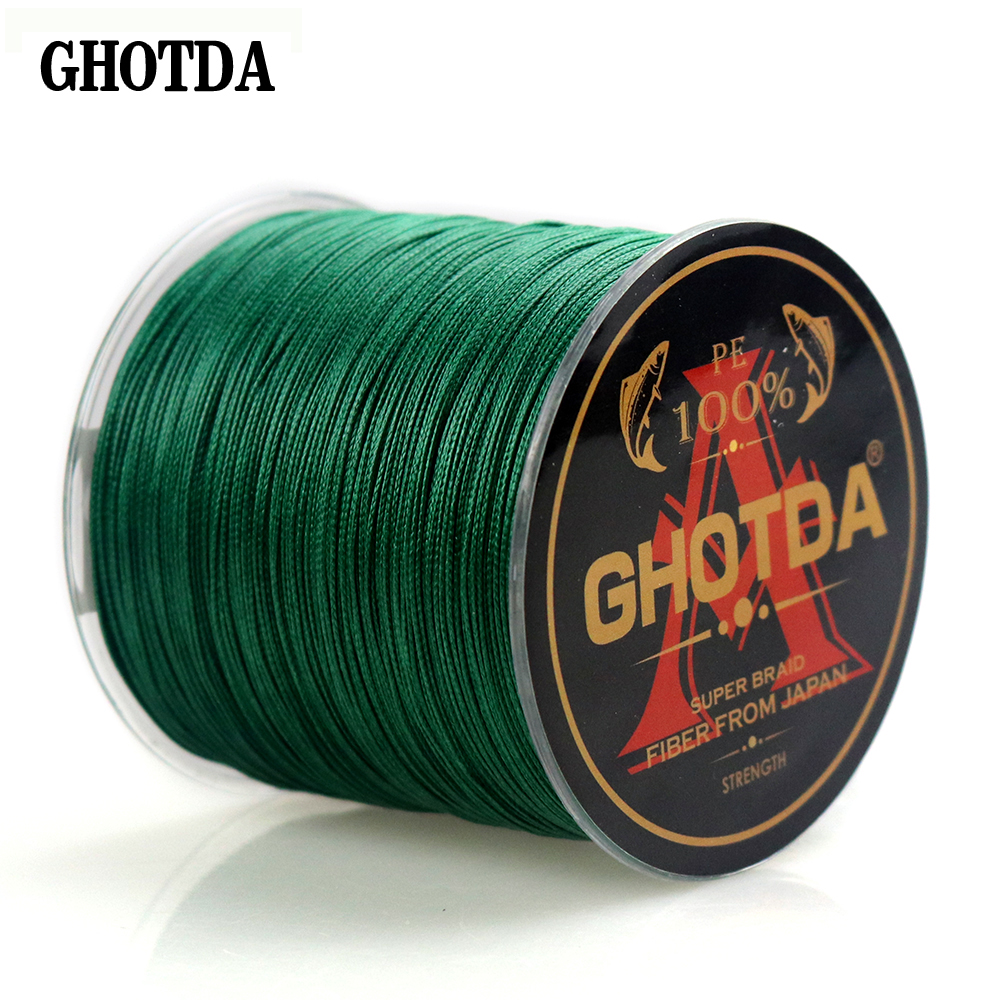 8 Strands PE Braided Fishing Line 300M 22 31 39 43 52 61 78LB Smooth Braided Lines Carp Fishing