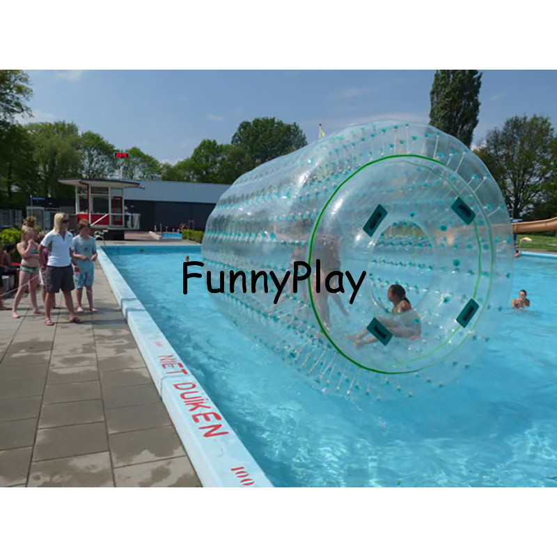 water filled lawn roller,Inflatable Water Park,Rental Inflatable Walk On Water Rolling,inflatable water walking roller ball фото