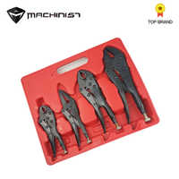 4pcs/set pliers Multi-fouction plier black heat treatment set pliers For sheet metal welding car repair tool