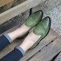 Винтаж Fringe Башмаки Женщины Оксфорд Обувь Британский Стиль Размер 35-41 Женщин Оксфорды Полный Натуральной Кожи Обувь Кисточкой Плоские обувь