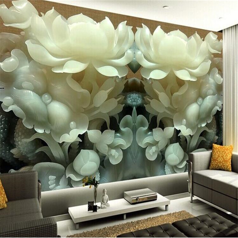 Buy custom 3d mural wallpaper chinese for 3d wallpaper for bedroom