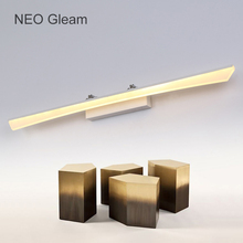 купить 8W-24W 400-1200mm Modern Bathroom Led Mirror Light Indoor Waterproof Led For Bathroom Wall Sconce Lamp Apliques De Pared Luz  по цене 3309.7 рублей