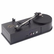 2017 New USB Portable Mini Vinyl Turntable Audio Player Vinyl Turntable to MP3/WAV/CD Converter without PC 33RPM EC008B