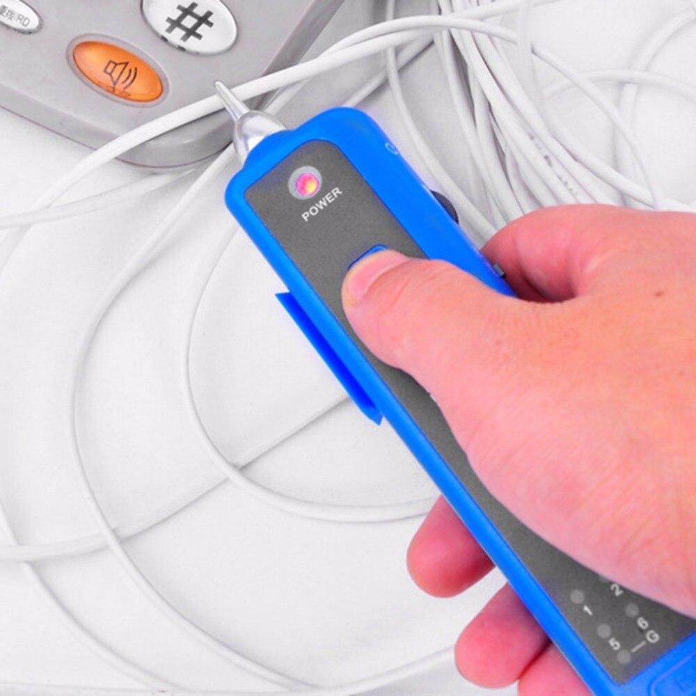 Ligne Finder Fil Tracker Sonde Ton Générateur Kit Fil Sniffer Testeur Câble Tracker Pour BNC Téléphone Réseau Lan Câble
