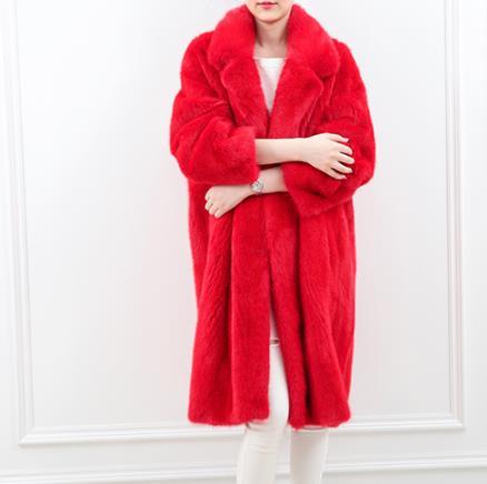 Taille Femmes Outwear 2018 Manteau Artificielle La De Plus Fausse Faux Z297 Fluffy Fourrure Femme Moelleux Minkjacket D'hiver ETqZE7