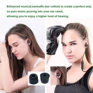 Image 2 - ANJIRUI T400 M 12.5mm 4.9mm Caliber Ear Pads/cap T400 memory foam eartips T500 for in ear earphone  tips sponge