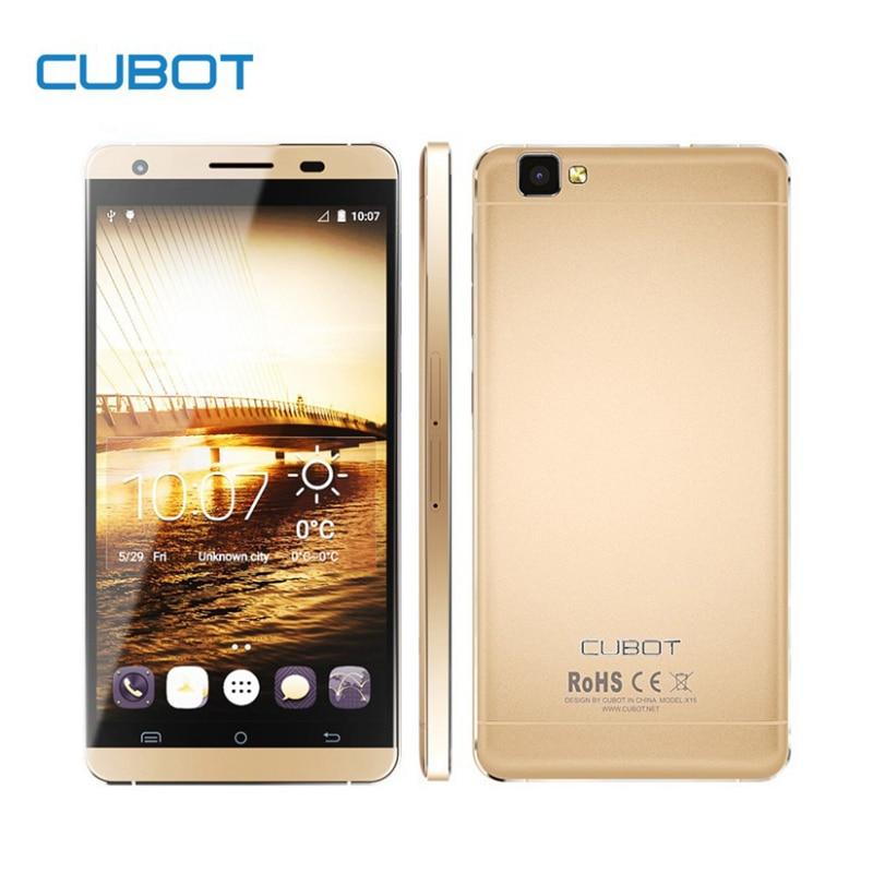 Original Cubot X15 font b Smartphone b font 5 5 FHD 1920 1080 2 5D JDI