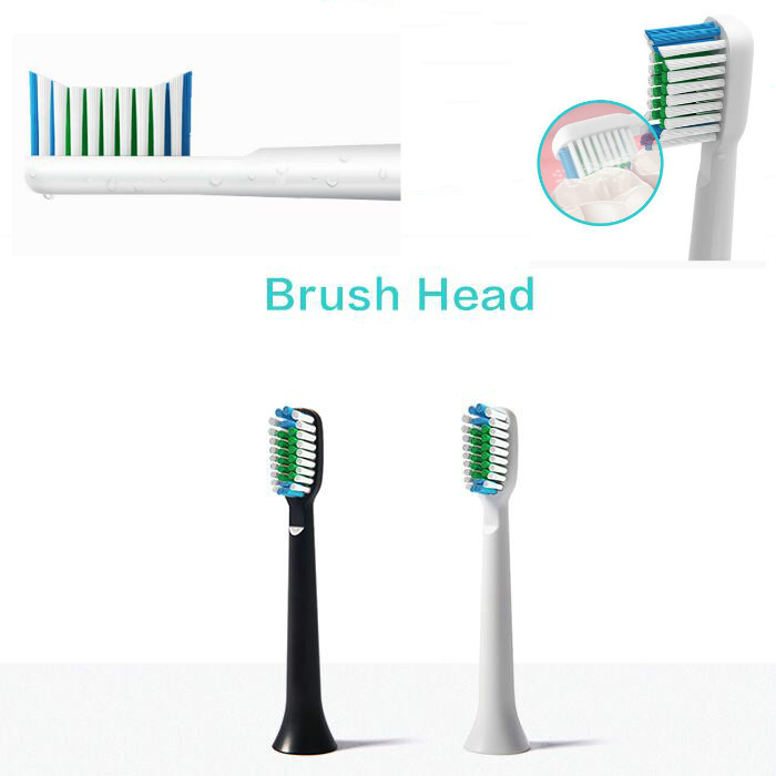 8 Pcs Brush Heads For Philips Sonicare ProResults Replacement Toothbrush HX6013 New image