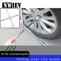NWIEV Cross type Folding Wrench Car Repair Tools For Acura Chevrolet Cruze Aveo Peugeot 307 308 Seat Mazda 3 6 CX 5 Accessories
