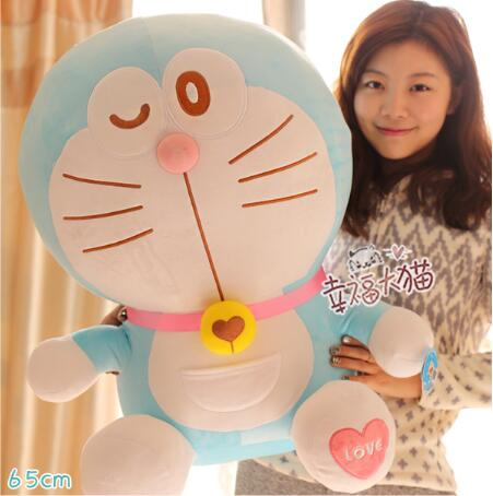 Sitting height 65cm Anime Cartoon Cute Doraemon plush toys Japanese anime Doraemon Cat Plush Toys For Children's Gift ,3 styles sitting height 65cm anime cartoon cute doraemon plush toys japanese anime doraemon cat plush toys children s gift