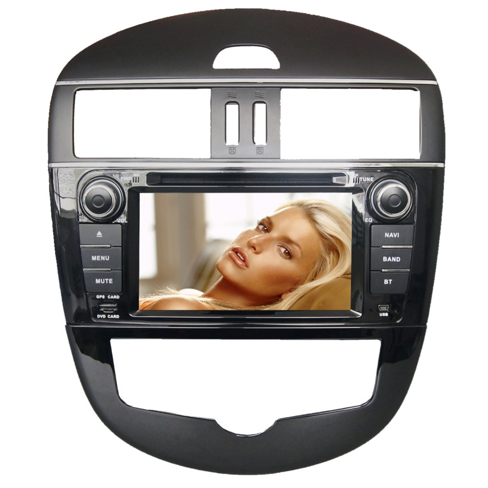 7 HD 1024*600 4 Core Android 6.0 Car DVD GPS Radio Video Stereo Navigation Player for Nissan Tiida 2011 2012 2013 2014 2015