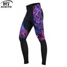KIDITOKT ударопрочные велосипедные штаны для велоспорта колготки MTB велосипедные брюки с Coolmax 3D гелевой подкладкой для человека