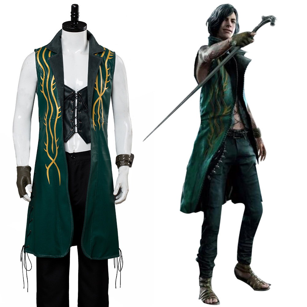 Devil May Cry 5 V Cosplay Nero Costume DLC The Bloody Palace  Outfit Full Set Adult Men Women Halloween Carnival Custom