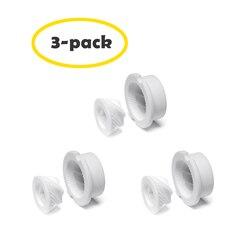3-Pack Ceramic Grinder for Wood Salt and Pepper Mill