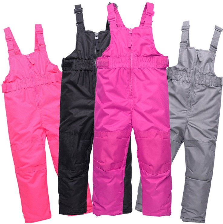 Clearance winter baby kids girl boy waterproof ski hiking outdoor jumpsuit trousers pants toddler children's clothing overalls
