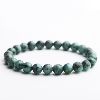 Bracelet Jaspe Vert Pour Homme