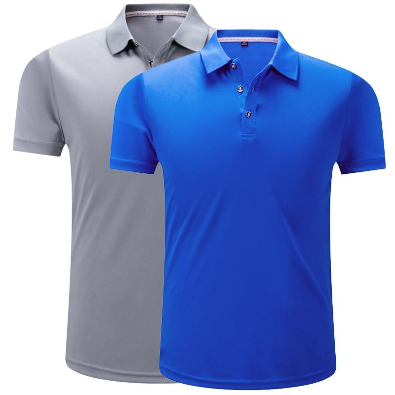 Quick Dry Fit Running Shirt Men's Short T-Shirt Polo Tennis Shirt Basketball GYM Running T Shirt Badminton Soccer Sports Clothes