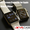 DEVILCASE  Screen Protector For Apple Watch Sport Edition 38mm PET Material Laser Cut Protective Ultra Thin Film 2pcs/pack