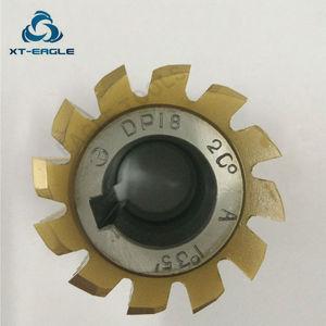 Image 2 - Yellow coating HSS DP10 DP11  DP12  DP13  DP14 DP16 DP18 DP20 DP22 DP24  Gear Hob Cutter PA20 degree
