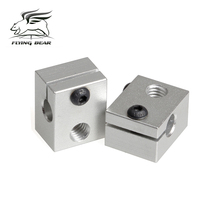 Flyingber High Quality  Heater Block M6 Specialized fort 3D Printer Extruder