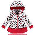 Brand White Duck Down Coats Winter Goose Down Jackets Big Hoody Girls Warm Parka Character Girl Mickey Cartoon Jacket For Kids