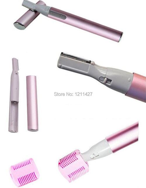 1Pcs Epilator Women And Men Hair Trimmer Portable Electric Eyebrow Hair Remover Shaving Cutting Machine Shavers For Lady Body