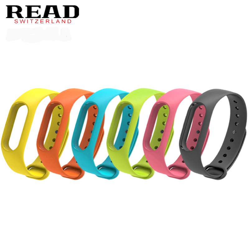 Colorful Silicone Anti-fading Watchband Replacement Watchband for Original Miband 2 Xiaomi Mi Band 2 Wristbands Pk Xaiomi Band все цены