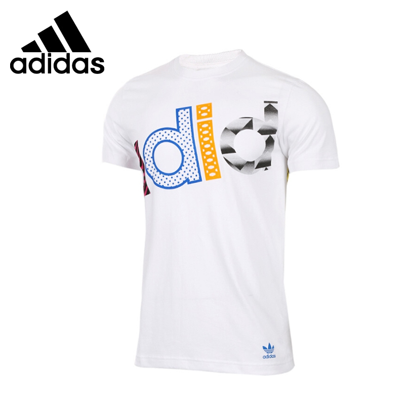 Original New Arrival 2017 Adidas Originals Men's T-shirts short sleeve Sportswear adidas original new arrival official neo women s knitted pants breathable elatstic waist sportswear bs4904