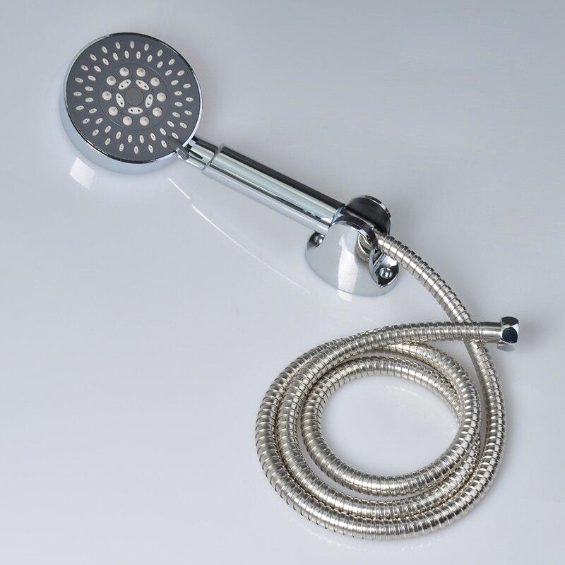 Chrome Multifunctions Handheld Shower Head Bathroom Faucet ABS Plastic  Holder Stainless Steel Shower Hose ChinaOnline Get Cheap Faucet Shower Hose  Aliexpress com   Alibaba Group. Bath Faucet Shower Hose. Home Design Ideas