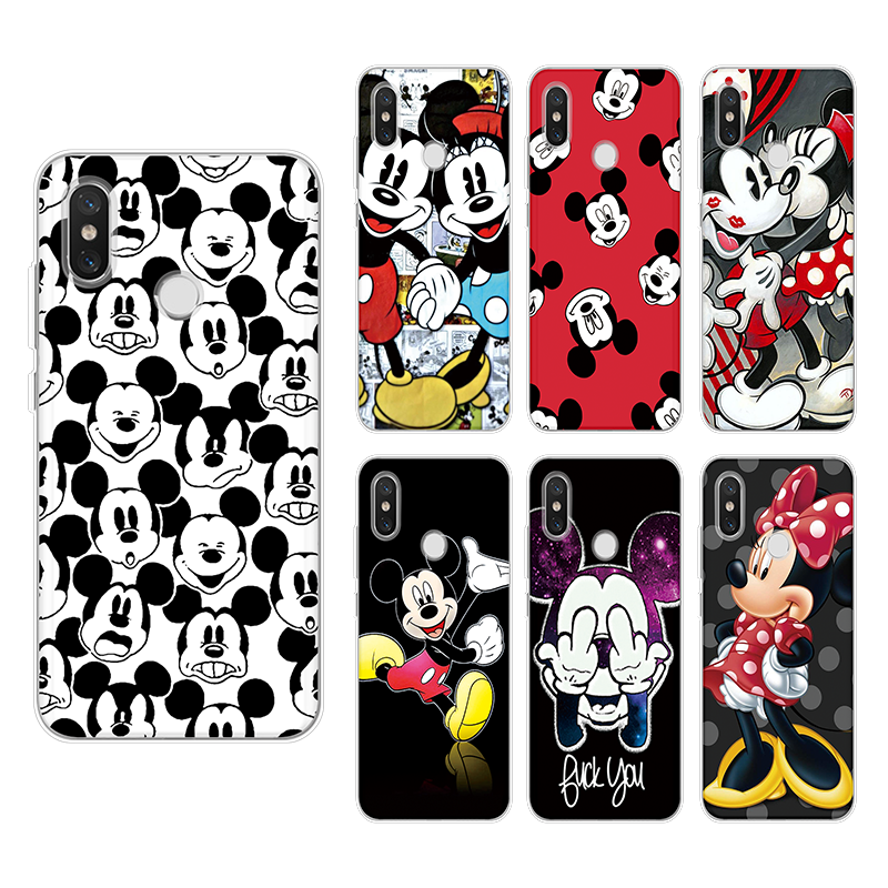 For Cover iPhone 7 Plus X Xs Max XR 5 SE 6s S 8 Plus For Xiaomi Mi A1 A2 5 Plus 5X 6X 4 4C 5S 6 8 Mi Mix 2 2S Note 2 3 TPU Case image