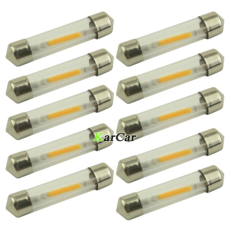 Дешевые цены 10х 41 мм гирлянда светодиодные чтение свет 12V авто 50 ЛМ удара потолочной лампы LED дверь Лампа Белый/теплый белый