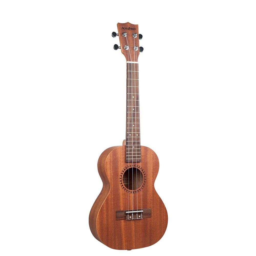 NAOMI cordes Instrument de musique 26 pouces ukulélé Sapele palissandre Nylon jouet guitare Ukeleles pour débutants enfants en bas âge