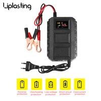 Liplastingインテリジェント12ボルト20a自動車車オートバイスマートシール型鉛酸バッテリー充電器ledデジタルディスプレイeu/米国プラ