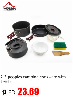 High Quality hiking cooking