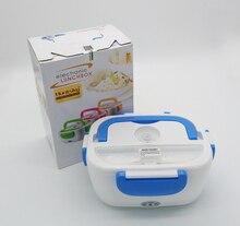 Calefacción eléctrica de picnic lunch box bento box potable armario mantener wram envase de alimento para la escuela offce home vehículo utilizando