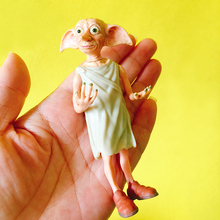 1Pcs/wizard with big ears/cute fairy/monster/fairy garden gnome/moss terrarium decor/crafts/bonsai/bottle garden/statue/figurine