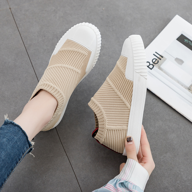 Woman Sneakers Shoes Ladies Trainers Comfortable New Mesh Summer Chaussure Casual