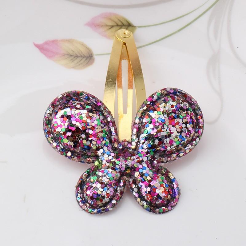 HTB1GIrkJFXXXXbuaXXXq6xXFXXXZ Sparkling Glitter Sequins Heart Butterfly Stars Girl Hair Clip - 3 Styles