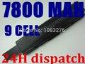 7800 mah bateria do portátil para toshiba pa3534 3534 pa3534u pa3534u-1bas pa3534u-1brs satellite l200 l300 a300 a500 l500 l550 l555