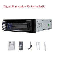 1 Din CD DVD Player 1din Car Stereo Fix Panel Car Stereo USB SD FM Aux