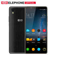"Elephone A2 5.47 ""18: 9 téléphone portable Android 8.1 MT6580 Quad Core HD + 1GB 8GB 8MP + 2MP empreintes digitales Smartphone"