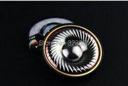 Headset titanium diaphragm fever hifi grade 50mm speaker unit 32ohms 1pair=2pcs