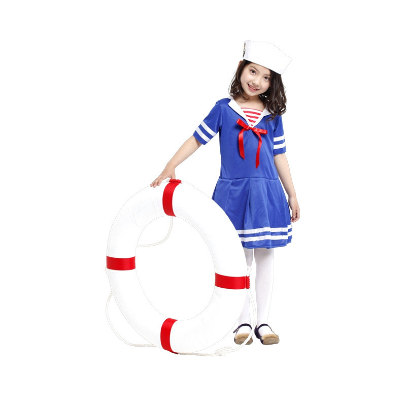 m xl fantasia disfraces halloween costumes for children girls sailor cosplay navy costume kids game uniformsin girls costumes from novelty u0026 special use on